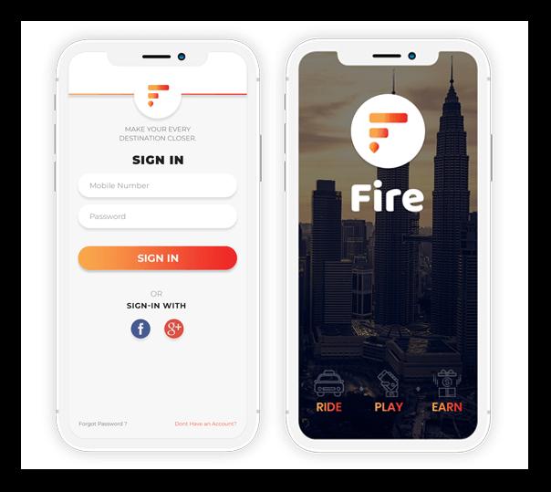 Fire Client Application - 1