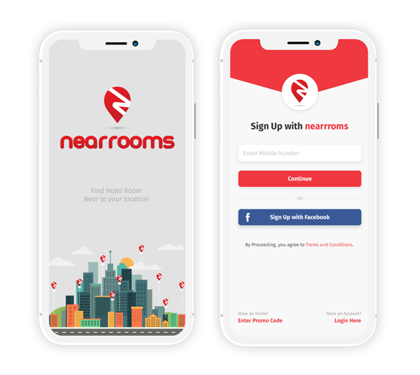 Near Rooms - Client Application - 1