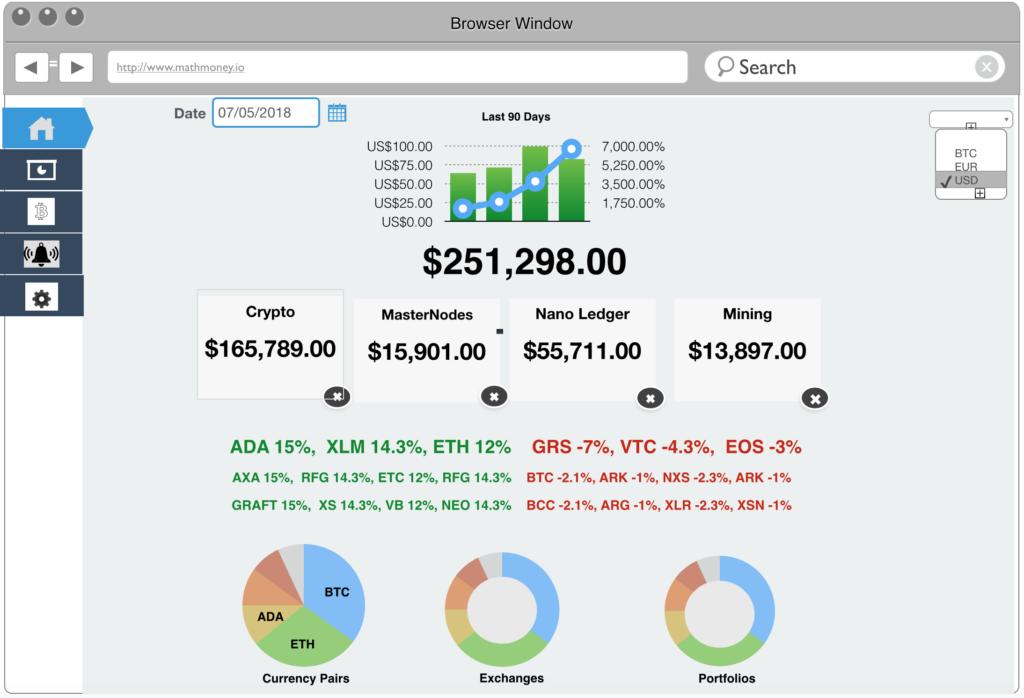 dash-browser main dashboard