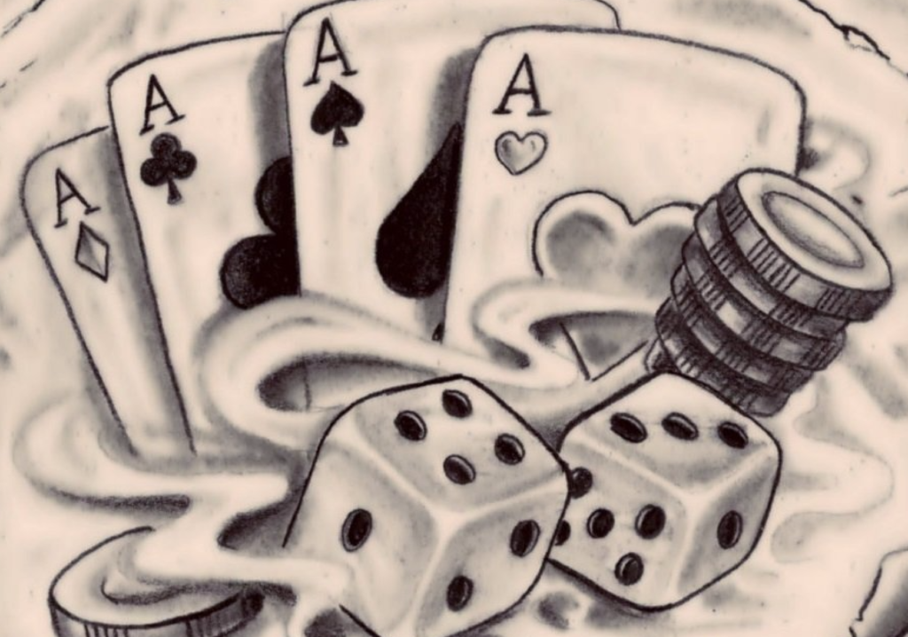 Card & Dice Game scatch image