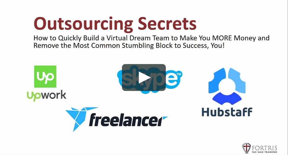 video on Outsourcing Secrets