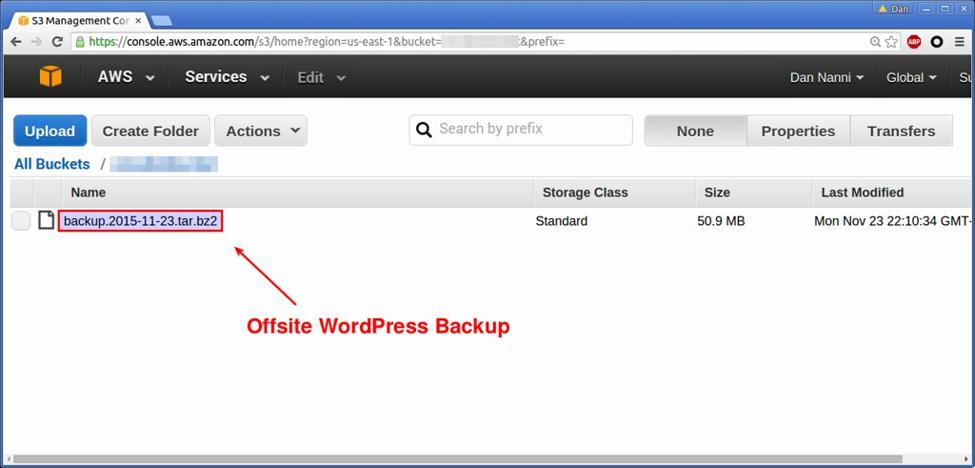 WordPress Update Plugin