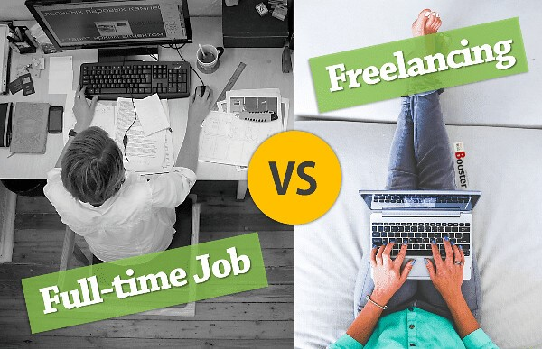 freelance jov vs private job