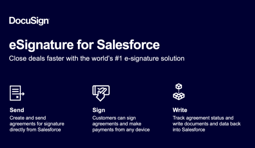 DocuSign eSignature for Saleforce