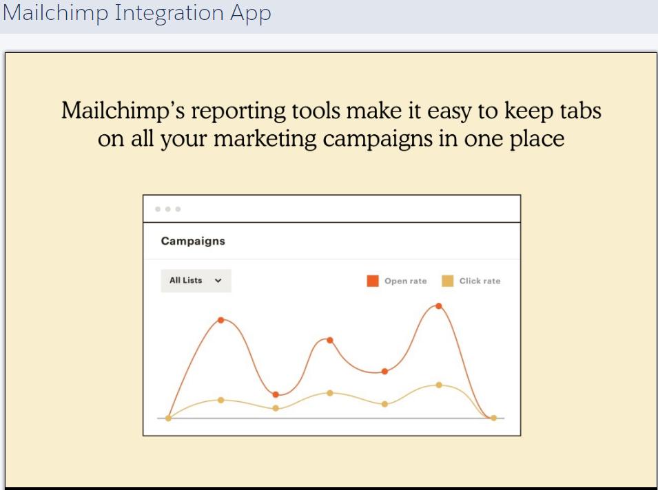 MailChimp App integration graph