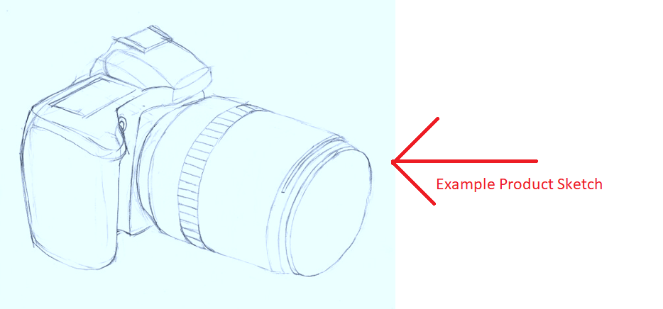product sketch example