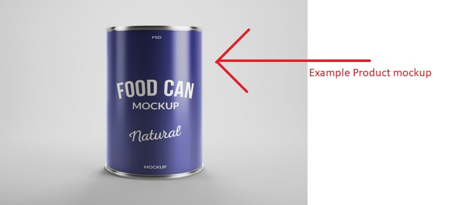 product mockup example