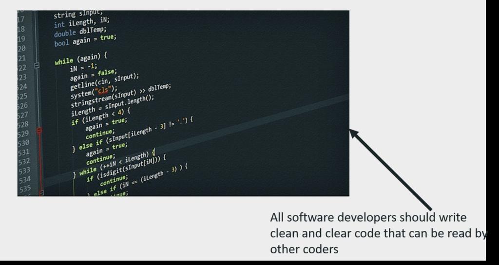 Clean development Code