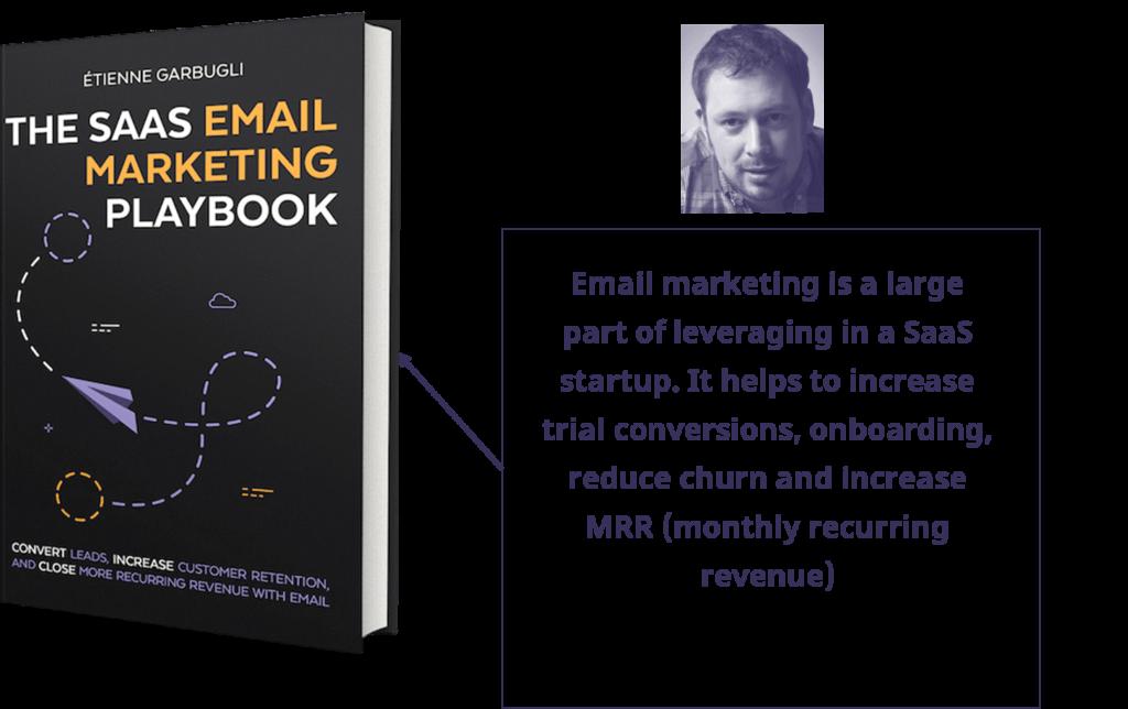 The SaaS Email Marketing Playbook by Etienne Garbugli