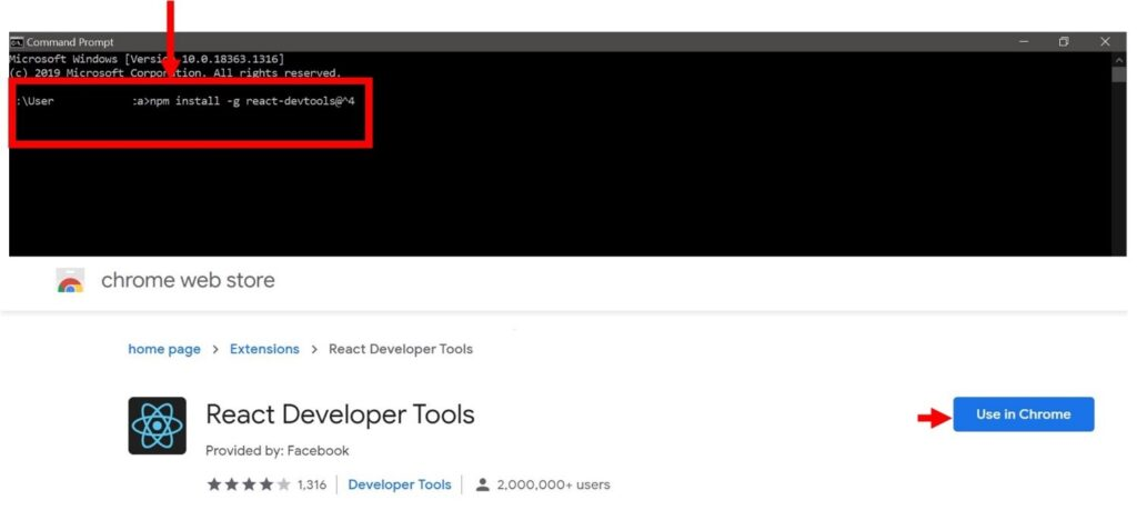 How to install React DevTools
